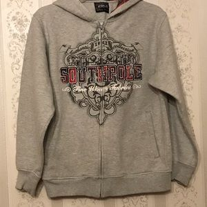 South Pole 🧓hoodie gray